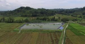 Drone di Desa Wlahar Wetan