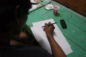 Praktek Sketsa Logo Produk