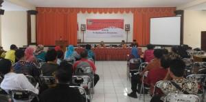 Rapat Kordinasi BKD di Kelurahan Karangpucung Kec. Purwokerto Selatan, Jumat (9/9)