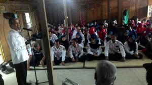 Sambutan Pembukaan Latgab oleh Ketua PMI Jawa Tengah Imam Triyanto