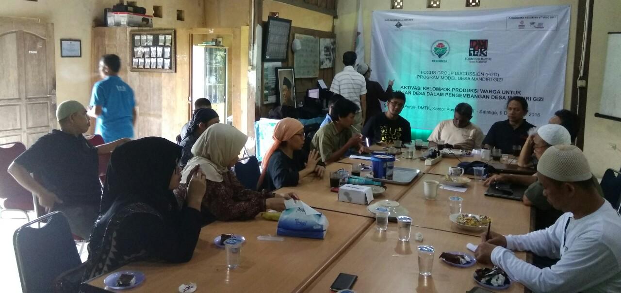 Perencanaan Strategis dan Penyusunan Program Desa Mandiri Gizi