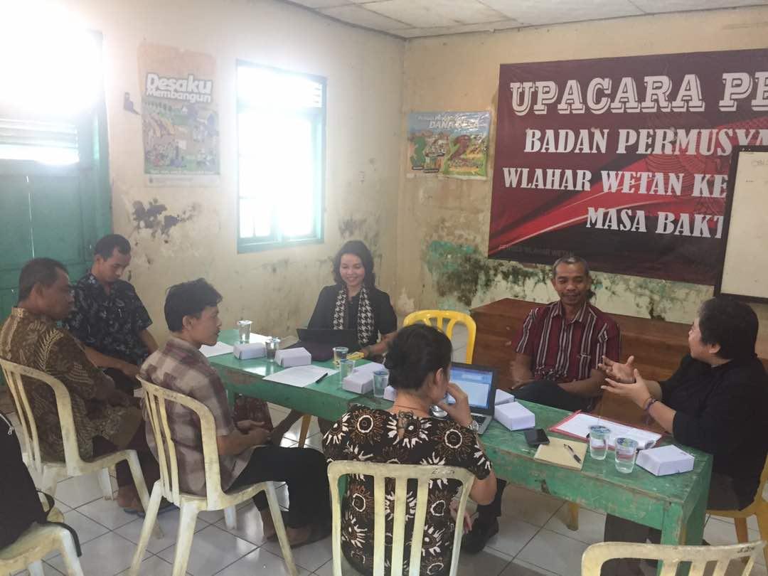 Diskusi Keterlibatan Pemdes Wlahar Wetan Dalam Permasalahan dan Penyelesaian Hukum