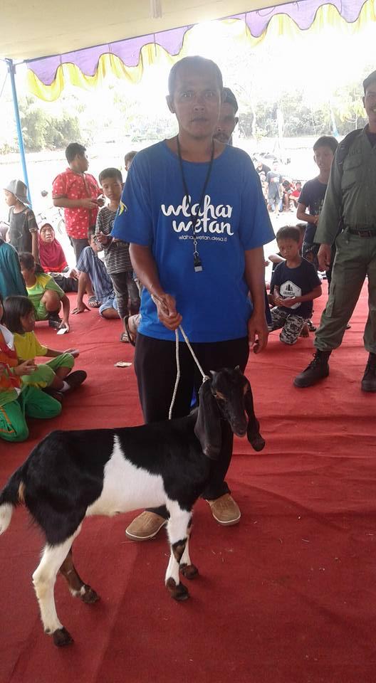 Hadiah Undian Untuk Penyemangat Peserta Karnaval Kemerdekaan Tahun 2017 Desa Wlahar Wetan