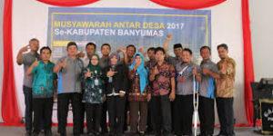 Musyawarah Antar Desa (MAD) 25 Desa Se-Kabupaten Banyumas Untuk Unit Bumdes Bersama Badan Kredit Desa (BKD)