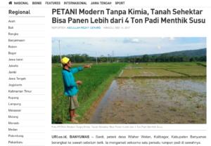 Pertanian Organik di Wlahar Wetan