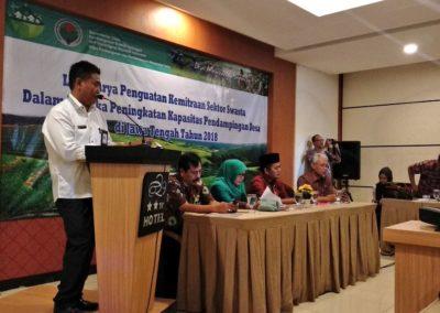 Lokakarya Penguatan Kemitraan Sektor Swasta oleh Dirjen PPMD Kemendesa
