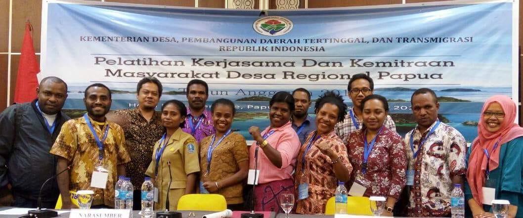 Belajar Dari Cakapnya Para Sahabat Gerakan Membangun pada Strategi  Pemberdayaan Kampung di Papua