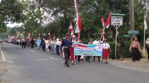 Acara Rutin Tahunan HUT RI di Desa Wlahar Wetan Dipastikan Setiap Tahunnya Menggunakan Jalan Provinsi untuk Lintas Utama Gelaran dan Parade Kemerdekaan Kegiatan oleh Semua Warganya